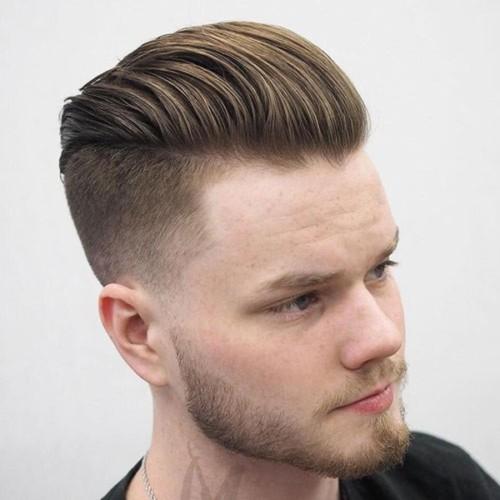 Textured-Comb-Back-Undercut-Fade